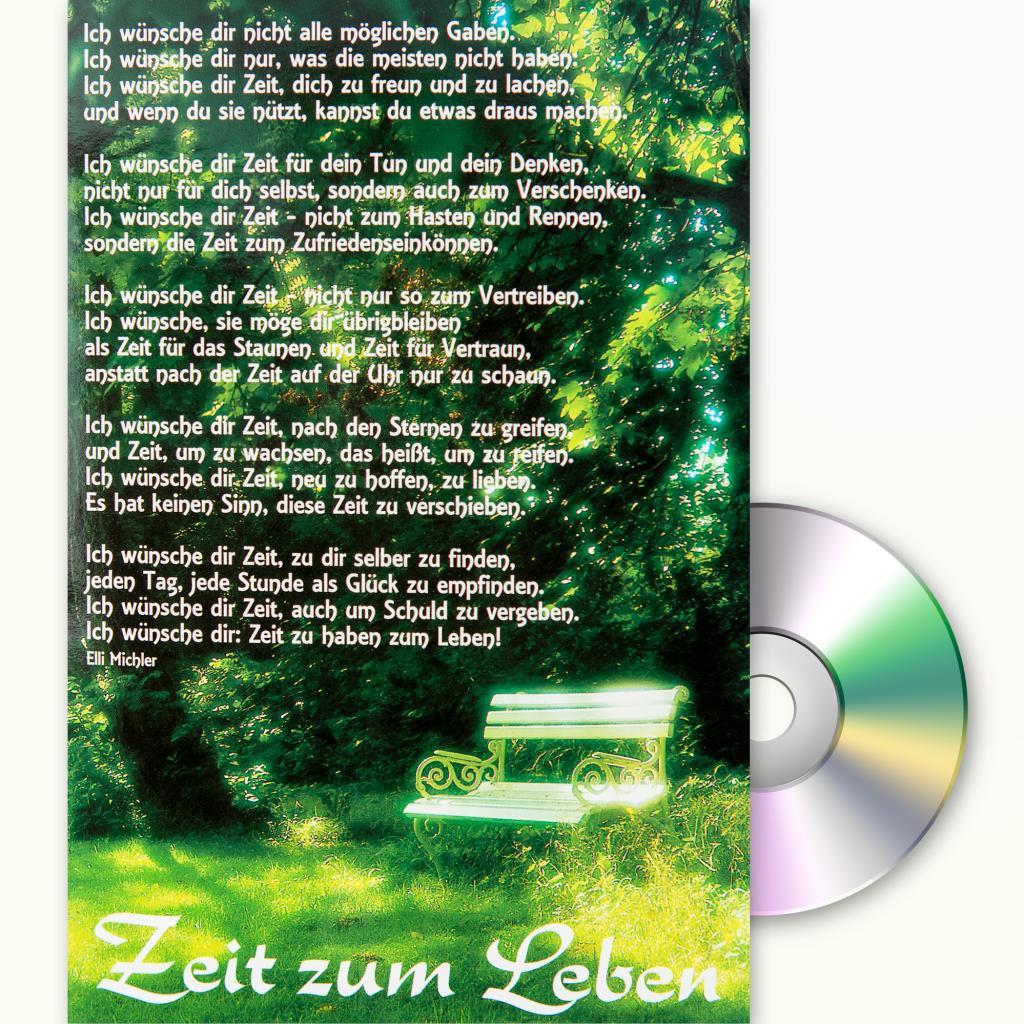 Zeit zum Leben - Ich wünsche Dir Zeit · ABAKUS Musik