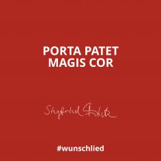 Porta Patet - Magis Cor #wunschlied