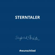 Sterntaler #wunschlied