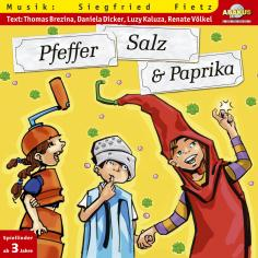 Pfeffer, Salz und Paprika