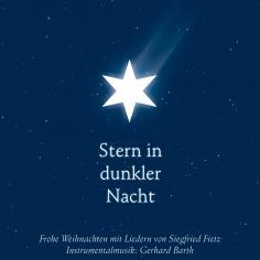 Stern in dunkler Nacht