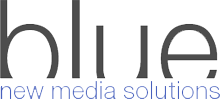 blue multimedia Logo